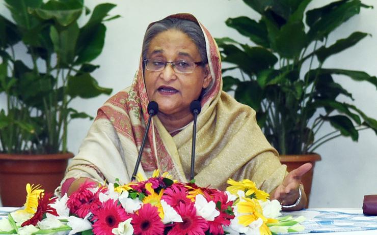 শেখ হাসিনা।